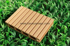WPC hollow decking flooring
