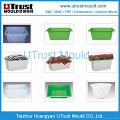SMC/FRP flower pot compression mould/molding