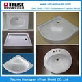 SMC浴室洗手盆模具 2