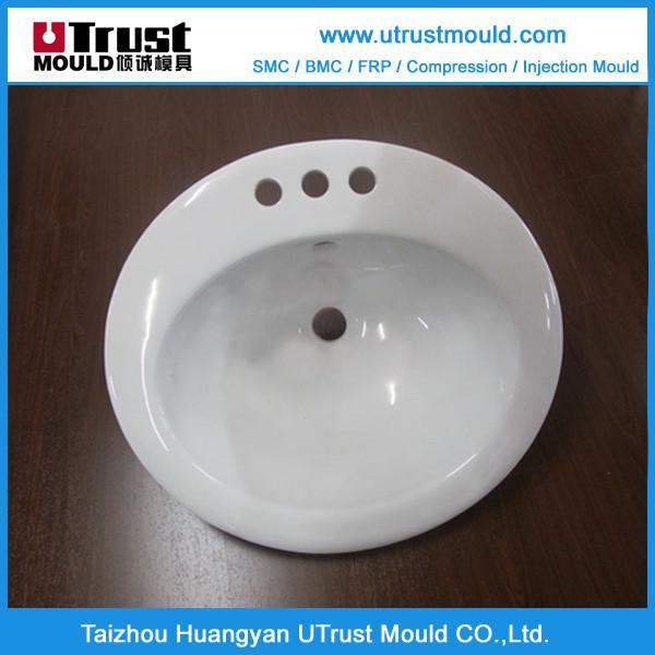 SMC浴室洗手盆模具 3