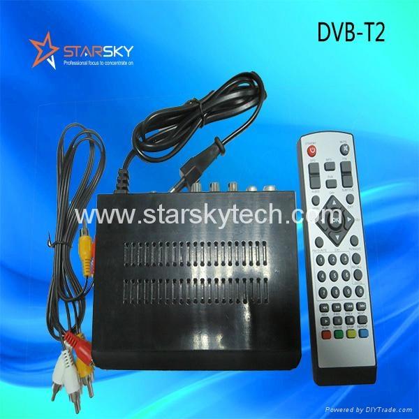 Mini Metal Decoder Dvb-T2 TV Receiver - DVB-T2 (China