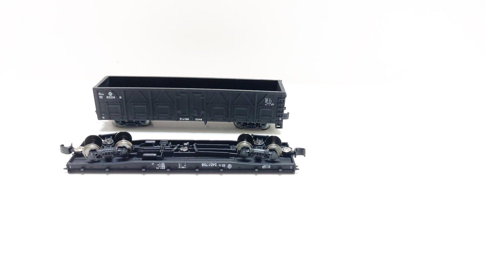 A miniature replica of a railway carriage 3