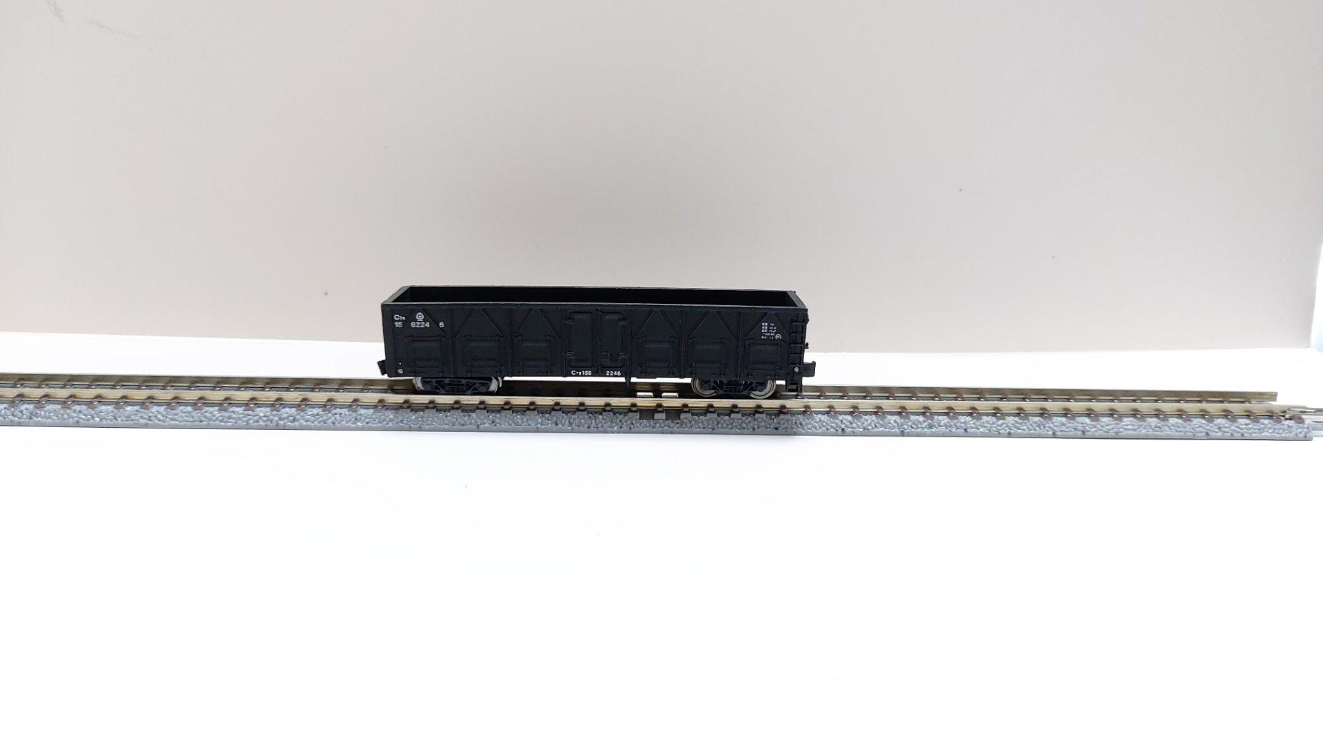 A miniature replica of a railway carriage 4