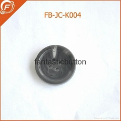 hotsale great imitation horn button for garments resin button