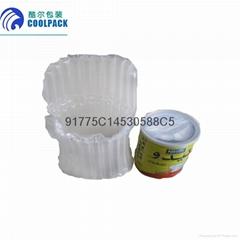 奶粉缓冲环保气柱式包装袋