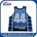 Custom made sublimation lacrosse jersey