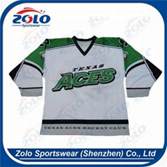High Quality Custom Made Sublimation Ice hockey jersey