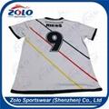 Custom Round Neck Soccer Shirts 3