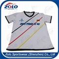 Custom Round Neck Soccer Shirts 4