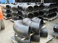 Carbon/stainless steel flanges/elbow