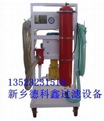 液压油新型滤油机