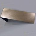 304高比亂紋鍍玫瑰金不鏽鋼  亮光抗指紋不鏽鋼板面 2
