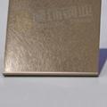 304高比亂紋鍍玫瑰金不鏽鋼  亮光抗指紋不鏽鋼板面 4
