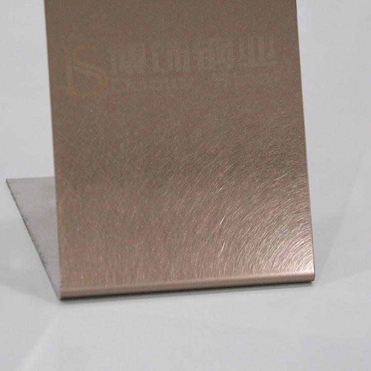 304高比和紋鍍古銅不鏽鋼 啞光抗指紋材料 2