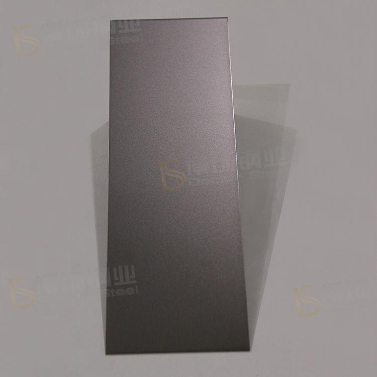 304打砂鍍黑鈦不鏽鋼 亮光防指紋加工 4