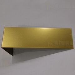 304高比打砂鍍鈦金不鏽鋼+防指紡