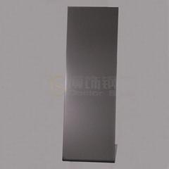 304高比打砂鍍青黑不鏽鋼+防指紋