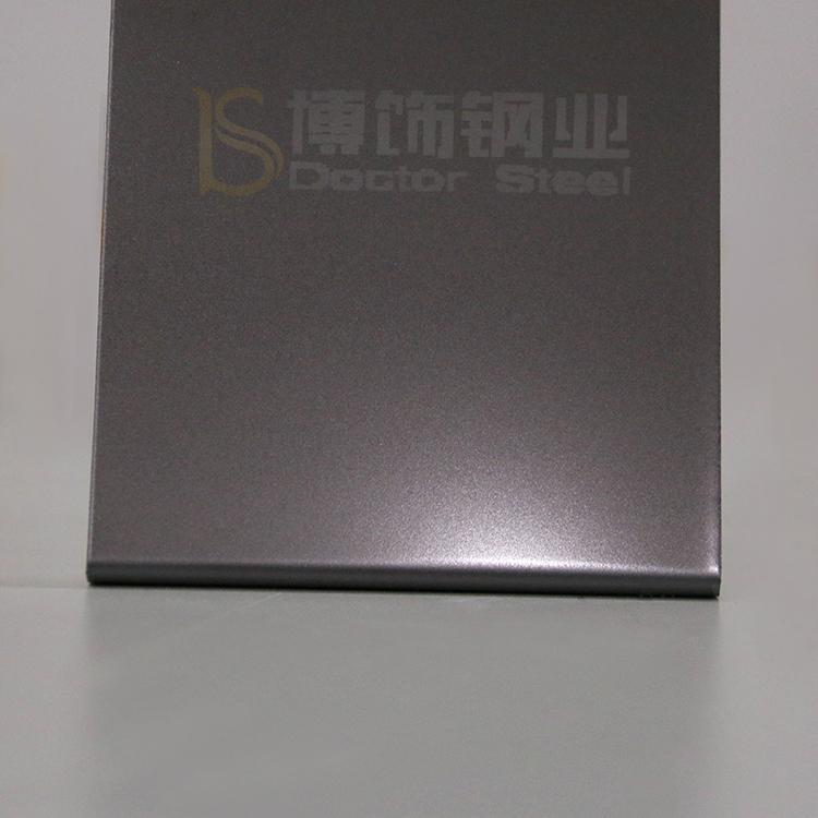 304高比打砂鍍青黑不鏽鋼+防指紋 3