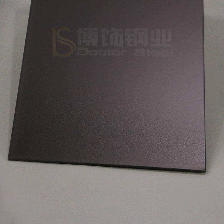 304高比打砂鍍青黑不鏽鋼+防指紋 4