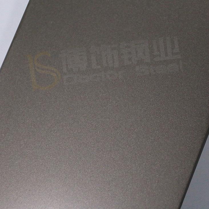 304高比打砂不鏽鋼鍍香檳金 專業不鏽鋼電鍍加工 1