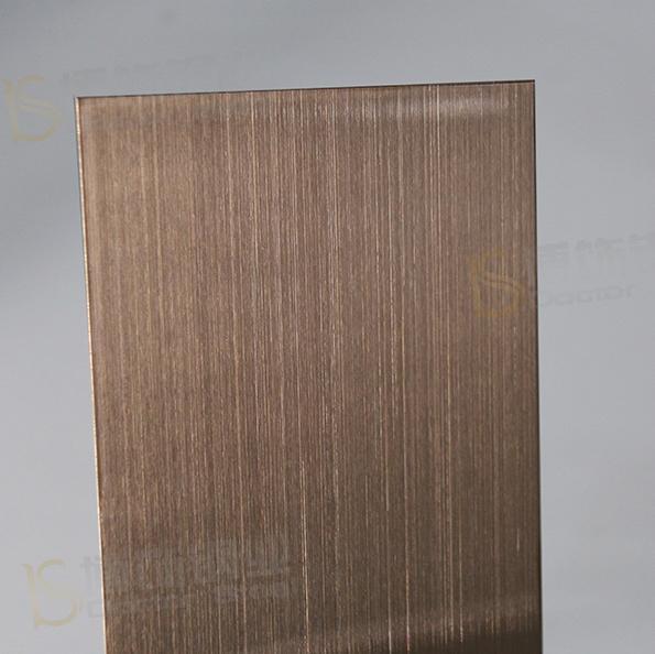 304高比發紋鍍古銅不鏽鋼 專業不鏽鋼電鍍加工 1