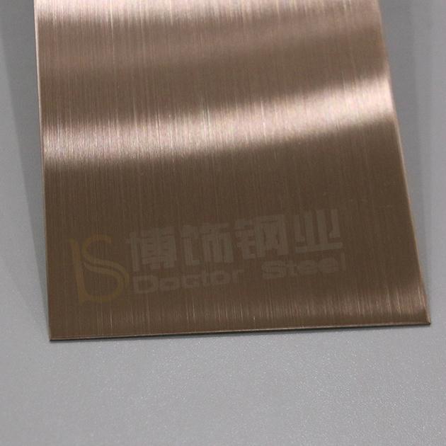 304高比發紋鍍古銅不鏽鋼 專業不鏽鋼電鍍加工 2
