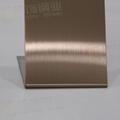 304高比發紋鍍古銅不鏽鋼 專業不鏽鋼電鍍加工 3