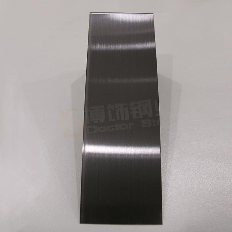 304高比發紋鍍黑色 啞光不鏽鋼表面處理 1