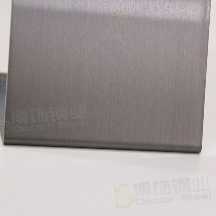 304高比發紋鍍黑色 啞光不鏽鋼表面處理 2