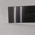 304高比發紋鍍黑色 啞光不鏽鋼表面處理 3