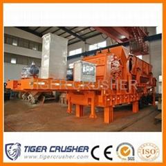 Tiger crusher# Mobile Impact Crushing Plant