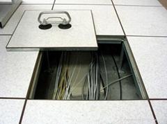 Anti-static steel raised access PVC lamination flooring