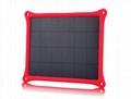 4W waterproof solar panel charger