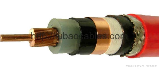 銅芯聚氯乙烯絕緣護套編織屏蔽細鋼絲鎧裝控制電纜 1