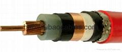 銅芯聚氯乙烯絕緣護套編織屏蔽細鋼絲鎧裝控制電纜