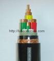 銅芯聚氯乙烯絕緣護套編織屏蔽細鋼絲鎧裝控制電纜 5