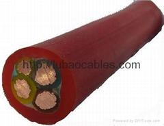 硅橡胶耐热辐射耐寒耐酸碱及腐蚀性气体防水电缆