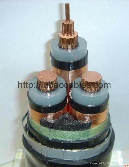 阻燃電力電纜  2