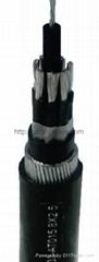 銅芯無鹵低煙阻燃耐火交聯聚乙烯絕緣聚烯烴護套電力電纜(可出口)