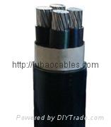 YJH   (TC90)交聯聚乙烯絕緣聚氯乙烯護套鋁合金電力電纜  2