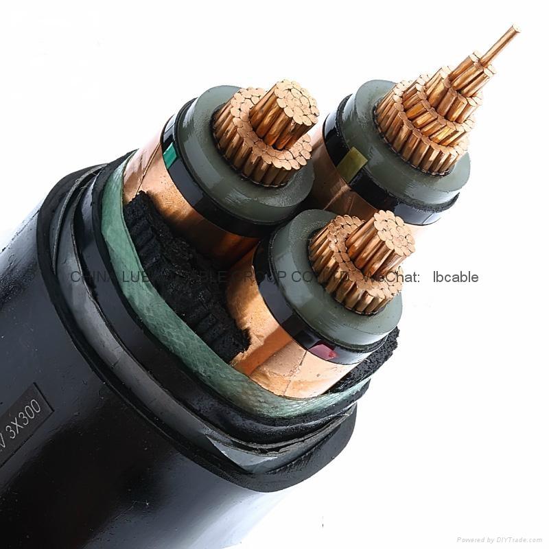 額定電壓0.6/1kV低壓交聯聚乙烯絕緣電力電纜 1