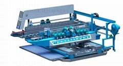 Glass straight-line double edging machine