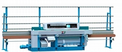 Glass flat edger & variable miter edging machine