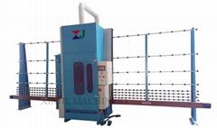 Glass automatic sandblasting machine