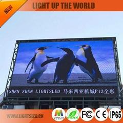 Outdoor LED Display P12 Dip