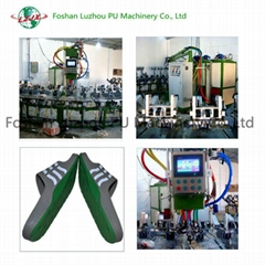 Injection Machine for Sole Safety Shoes Insloe Outsloe Making Machine