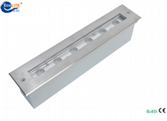 2015 newest IP68 recessed liner LED underwater light
