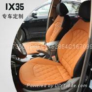 现代IX35汽车真皮座椅