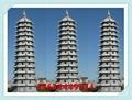 石雕佛塔圖紙樣式大全 山東寺院