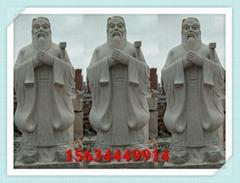 青海石雕名人像廠家 山東石雕孔子價格